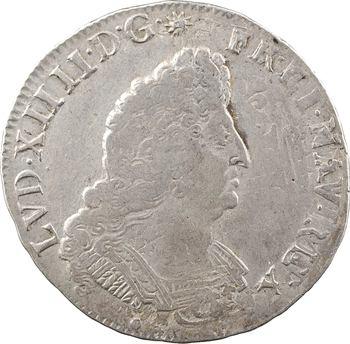 Louis XIV, demi-écu aux palmes, 1693 Aix-en-Provence