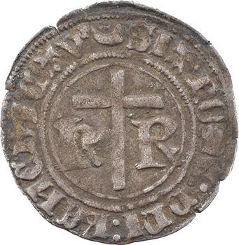 Henri VI, petit blanc aux écus, Châlons-en-Champagne