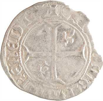 Dauphiné, Viennois (dauphins du), Louis II dauphin, petit blanc, s.d. Romans