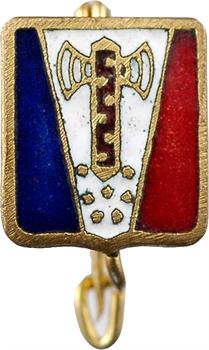 IIe Guerre Mondiale, petit insigne, francisque, s.d. Paris