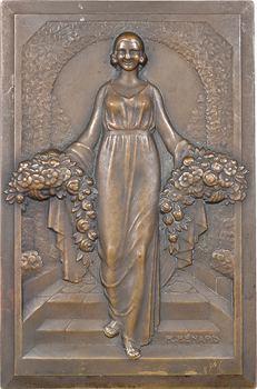 Bénard (R.) : Femme aux fleurs et à la source, s.d. Paris