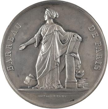 IIIe République, le Barreau de Paris à M. Jean Perrin, par Pingret, 1929 Paris