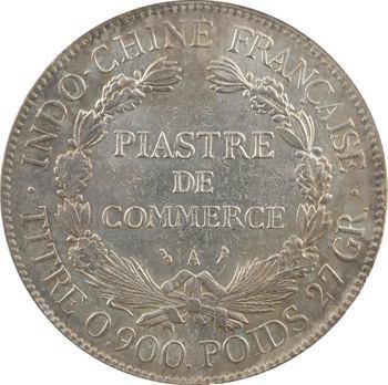 Indochine, 1 piastre, coque CCCS EF45, 1908 Paris