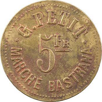 Algérie, Oran, marché Bastrana, 5 francs, s.d