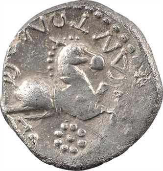 Centre-Ouest (incertaines), denier classe I ARIVOS/SANTONOS, c.60-50 av. J.-C