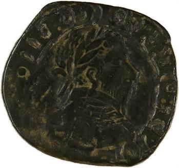 Henri III, double tournois, buste à droite, 1590 ? Bayonne