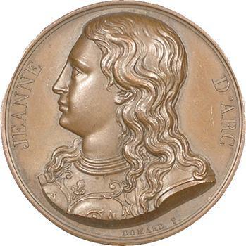 Louis XVIII, Jeanne d'Arc par Domard, 1823 Paris