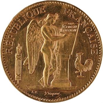 IIIe République, 100 francs Génie, 1911 Paris
