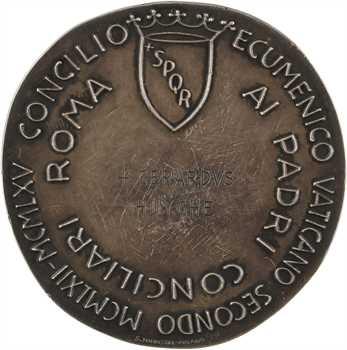 Vatican, Paul VI, le concile de Vatican II à Gerard Huyghe, par Greco, 1962-1965 Rome