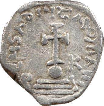 Héraclius, hexagramme, Constantinople, 610-641