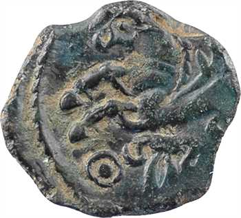 Véliocasses, bronze SVTICCOS, à la tête casquée, c.50 av. J.-C