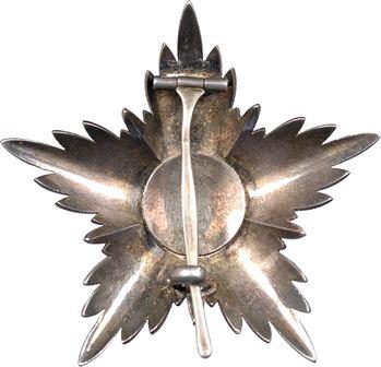 Maroc, grand croix de l'Ordre du Ouissam Alaouite Cherifien