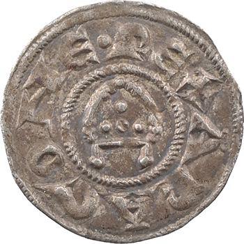 Provence (comté de), Alphonse Ier et Raymond de Bollène, denier, c.1177-1186, Arles ou Marseille