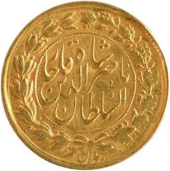 Iran, Nasseredin Shah, toman, AH 1299 (1882) Téhéran
