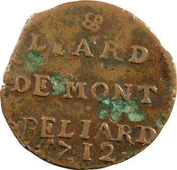 Franche-Comté, Montbéliard (comté de), Léopold-Éberard, Liard, 1712 Montbéliard