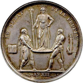 Premier Empire, le sacre de Napoléon Ier, An XIII Paris
