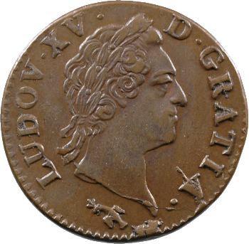 Louis XV, sol à la vieille tête, 1772 Besançon