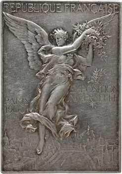 Vernon (F.) : Exposition Universelle de Paris, concours de sapeurs-pompiers, 1900 Paris