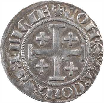 Provence (comté de), Jeanne et Louis, demi-gros ou Uthène, Tarascon
