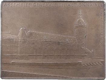 Chemin de fer, Assemblée générale du Paris-Lyon-Méditerranée, par Roty, s.d. Paris