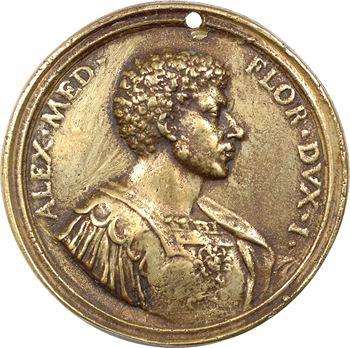 Italie, Florence, surmoulage de la médaille d'Antonio Selvi pour le Grand-Duc Alexandre Médicis, XVIIIe s. ?