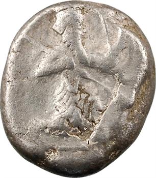 Royaume Achéménide, Darius Ier, sigle d'argent, Sardes, c.485 av. J.-C.