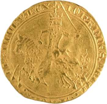 Jean II le Bon, franc à cheval