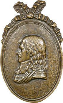 Turenne (H. de la Tour d'Auvergne, vicomte de), médaillon, s.d. (c.1800)