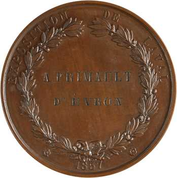 Second Empire, Exposition de Laval, 1857 Paris