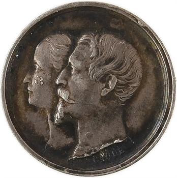 Second Empire, naissance de Napoléon IV, 14 juin 1856, par Caqué