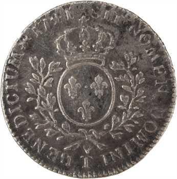 Louis XV, demi-écu au bandeau, 1741 Nantes