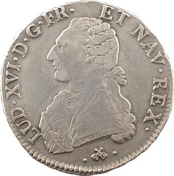 Louis XVI, écu aux rameaux d'olivier, 1779 Bayonne