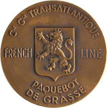 Compagnie Générale Transatlantique, le paquebot de Grasse (French line), par Delannoy, dans sa boîte, s.d. Paris