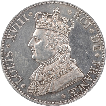 Louis XVIII, la duchesse d'Angoulême, visite de la Monnaie de Paris, 1817