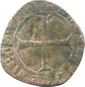 Dauphiné, Viennois (dauphins du), Charles III dauphin, quart de gros, s.d. (1417-1422) Mirabel