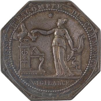 Directoire, Caisse d'Escompte du Commerce, par Andrieu, s.d. (1797) Paris