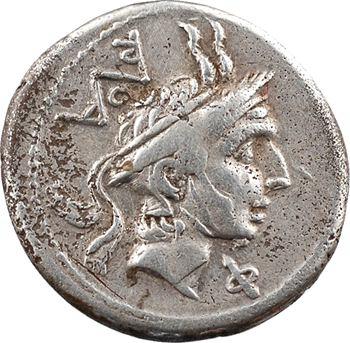 Marcia, denier, Rome, 113-112 av. J.-C.