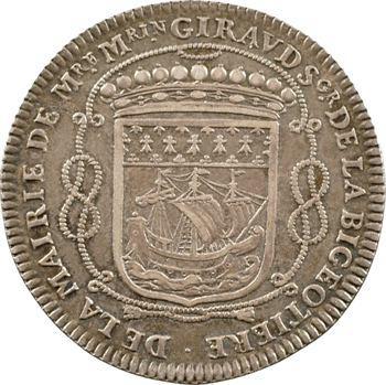 Bretagne, Nantes (mairie de), Mathurin Giraud, maire, 1665