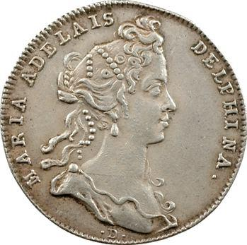 Dauphiné, Marie-Adélaïde de Savoie, dauphine, 1712