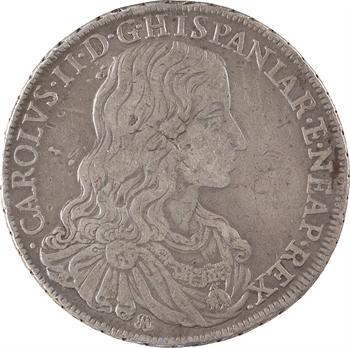 Italie, Naples (royaume de), Charles II, ducato, 1684 Naples