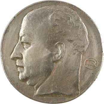 Pommier (A.) : Pierre-Étienne Flandin, épreuve uniface, s.d