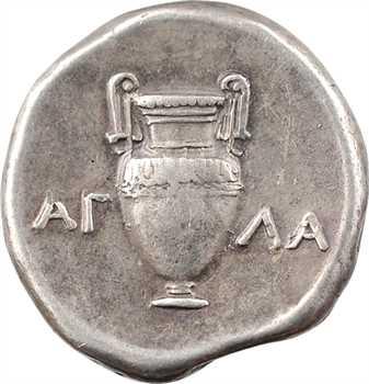 Béotie, Thèbes, statère au nom du magistrat AΓΛA, c.363-338 av. J.-C.