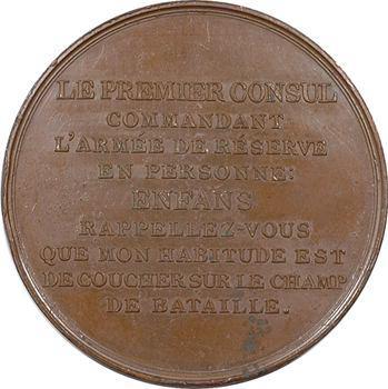 Consulat, bataille de Marengo, commandement de Bonaparte, An 8 (1800) Paris