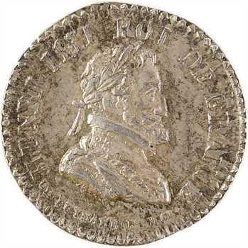 Louis XVIII, hommage à Henri IV, par Dubois, s.d. Paris