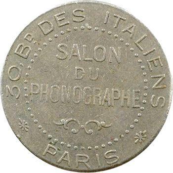 Jeton du Salon du Phonographe