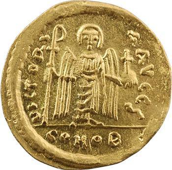 Phocas, solidus, Constantinople, 6e officine, 607-610