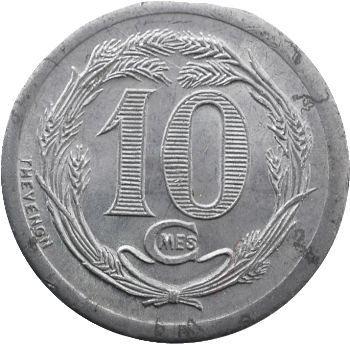 Djibouti, 10 centimes, 1921 Paris