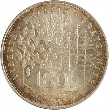 Ve République, 100 francs Panthéon, 1984 Pessac