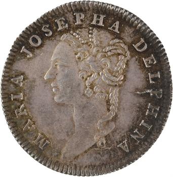 Dauphiné, Marie-Josèphe de Saxe, dauphine, 1758