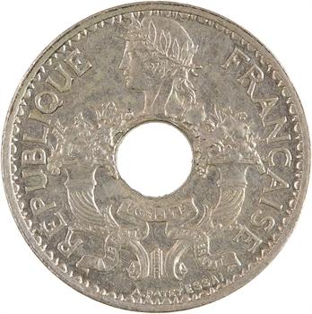 Indochine, essai-piéfort de 5 centièmes, 1923 Paris